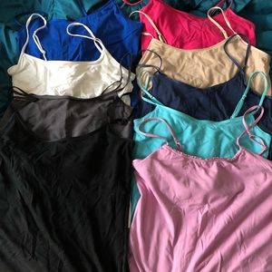 Aerie/American Eagle camis size Medium. Can split.